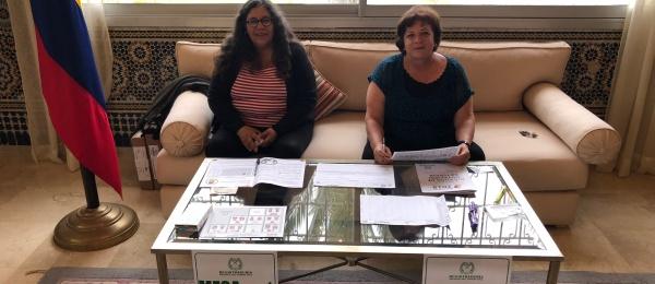 Inició la jornada electoral en el Consulado de Colombia en Rabat en 2018