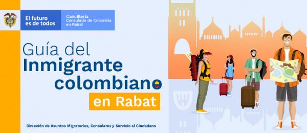 Guía del inmigrante colombiano en Rabat