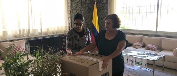 Consulado de Colombia en Rabat concluyó la Consulta Anticorrupción 2018