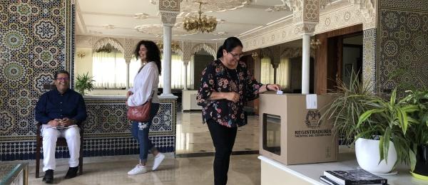 Segunda vuelta presidencial inicia el domingo 17 de junio en el Consulado de Colombia en Rabat